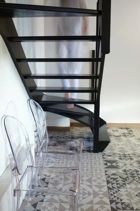 Des escaliers pour monter encore plus haut !