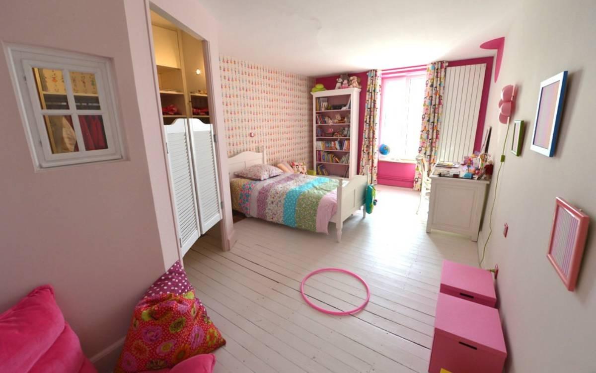 chambre fillette, Christel Dubois décoratrice UFDI à Reims