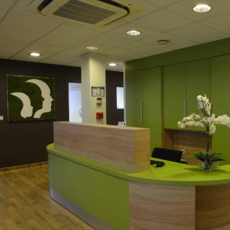 Décoration intérieure d'un cabinet d'orthodontie