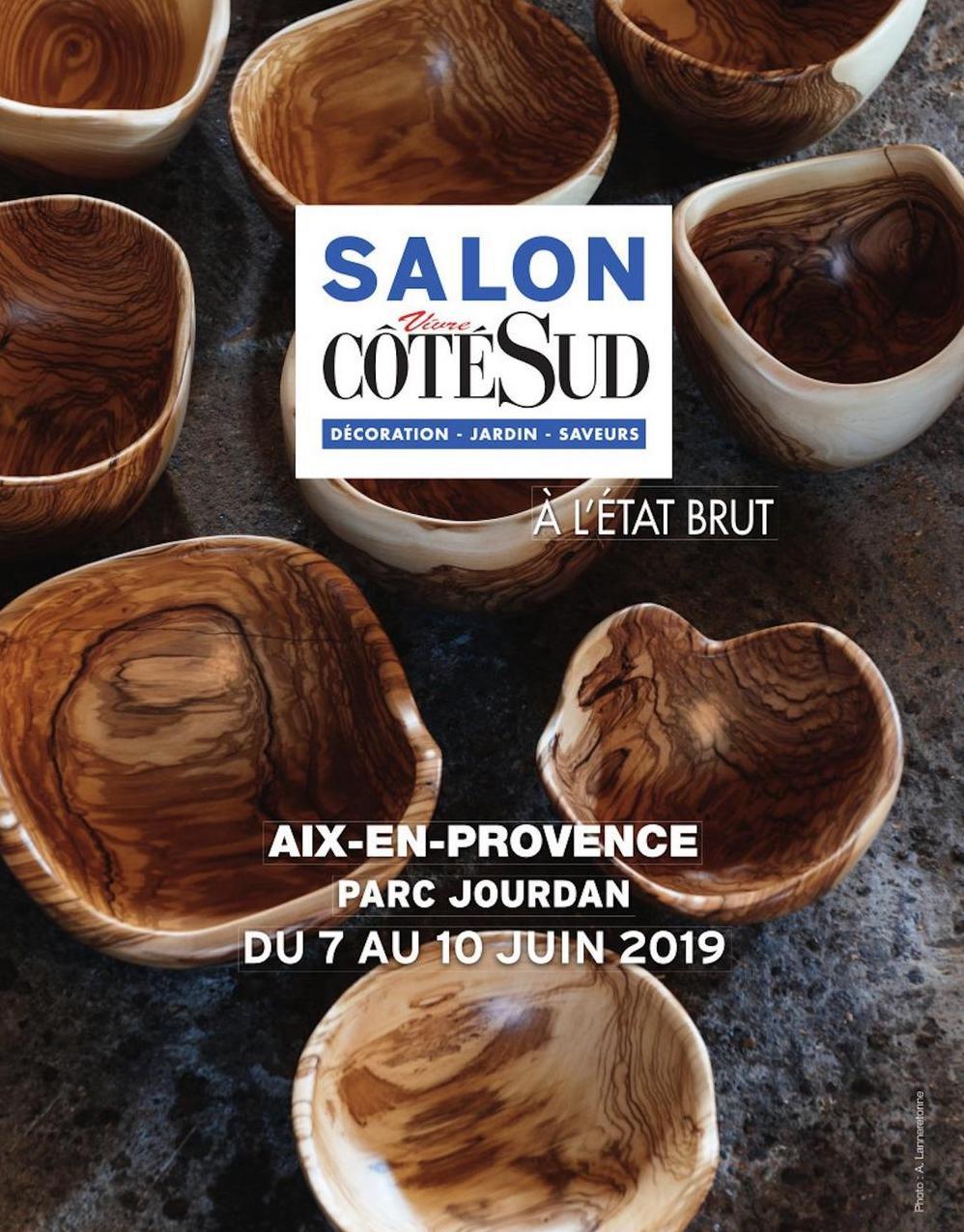 Bientôt au salon Coté Sud d'Aix en Provence avec l'UFDI