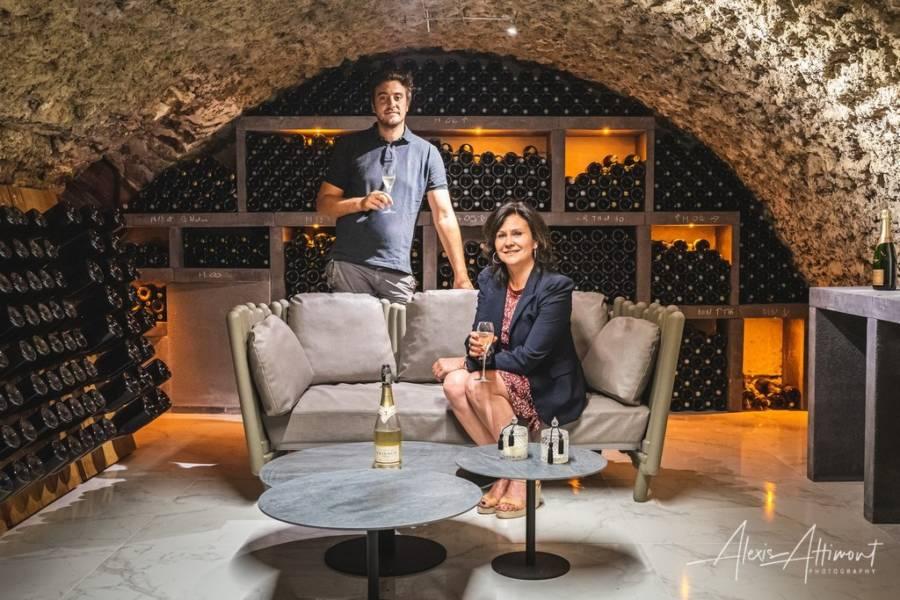 Agencement complet d'un caveau de Champagne à Romery