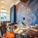 le restaurant la Table des Halles à reims, quartier Boulingrin. Une réalisation de Christel Dois décoratrice à Reims. Agence OSEZ décorer